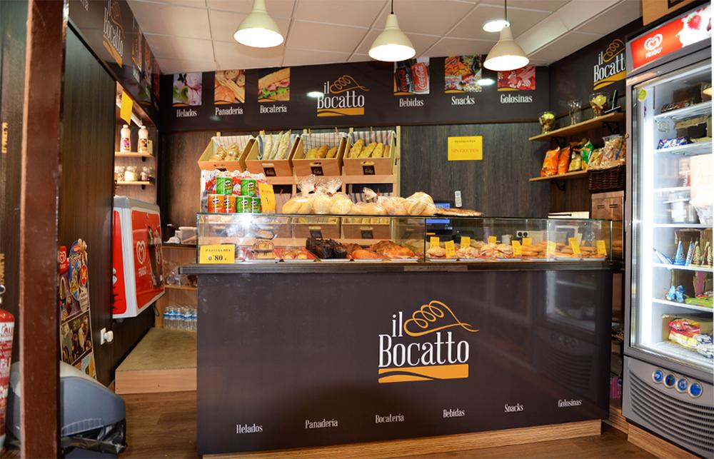 Rotulación interior panadería