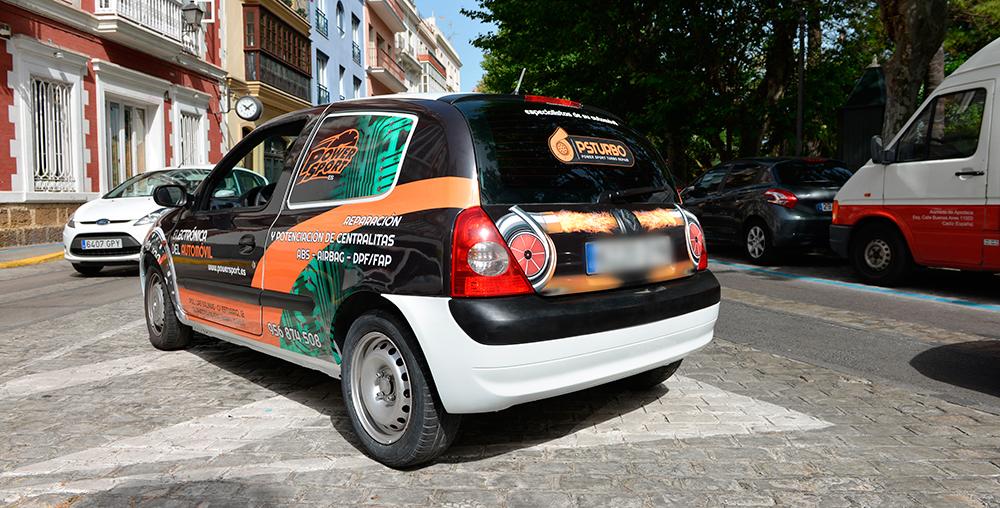 rotulación coche power sport