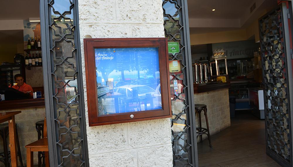 carta restaurante el anteojo