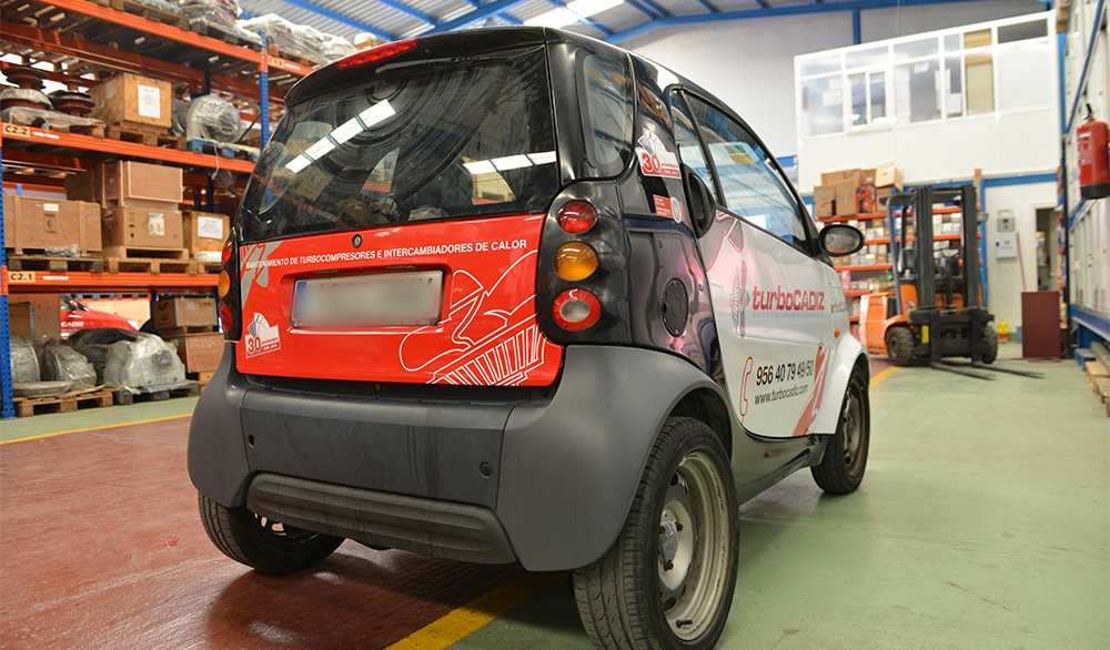 rotulación vehículo smart