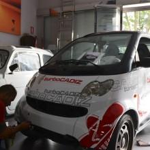 rotulación coche smart