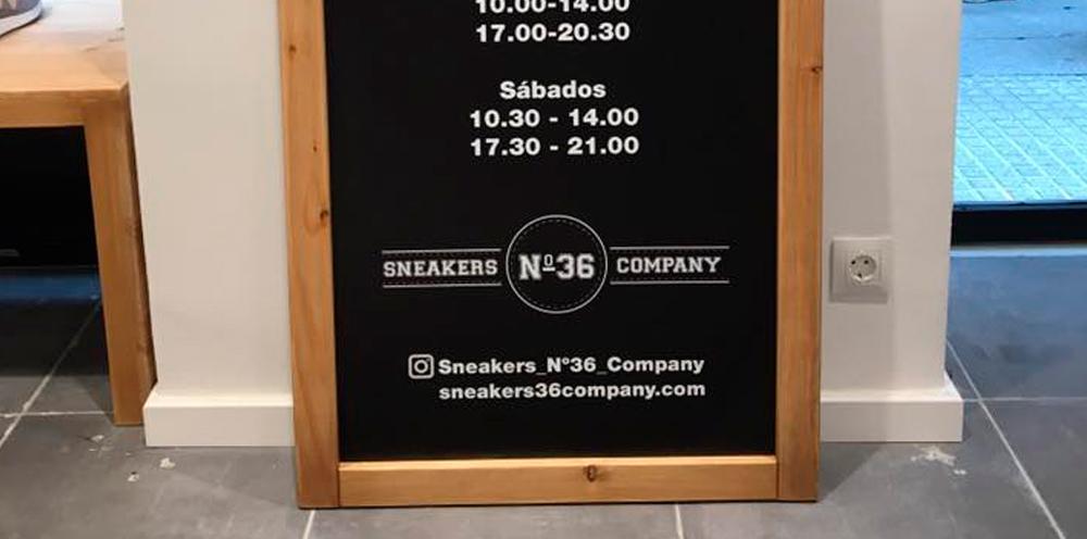 rotulacion tienda de calzado