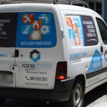 rotulación furgoneta pereira servicios