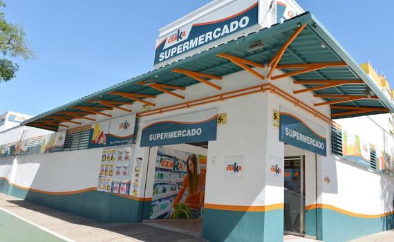 rotulación supermercado