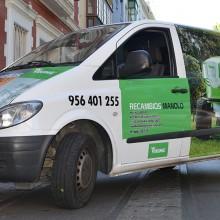 rotulación vehículo recambios manolo